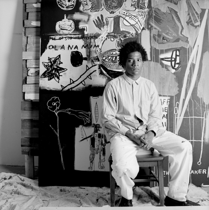 Jean Michel Basquiat, 1984