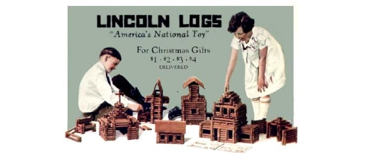 Lincoln Logs: The Classic Toy that Beats the Computer Hands Down