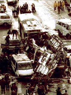 """""""HAMAS suicide bombing in Jerusalem on 25 February (DoS Publication 10321)"""" by Dept. of State - s:Patterns of Global Terrorism Report/1996. Licensed under Public Domain via Wikimedia Commons"""
