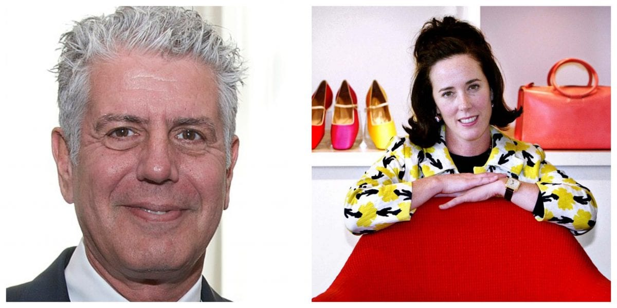Kate Spade and Anthony Bourdain: Mental Illness, Suicide, and Stigma