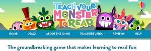 Teach your monster to read website screenshot