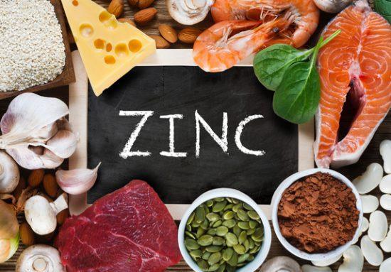 Foods rich in zinc