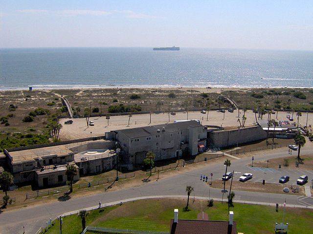 Tybee Island, North Beach, view from lighthouse