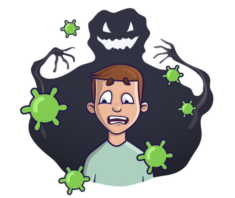 coronavirus nightmare fears big scary monster
