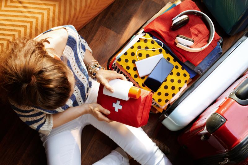 packing first aid kit for travel with a special needs child