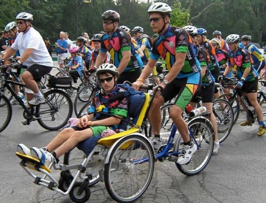 Steven and Graham Gardner, Pan Mass Challenge, 2008