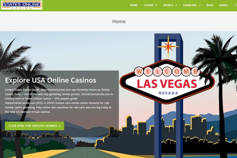 States Online Casino Screenshot