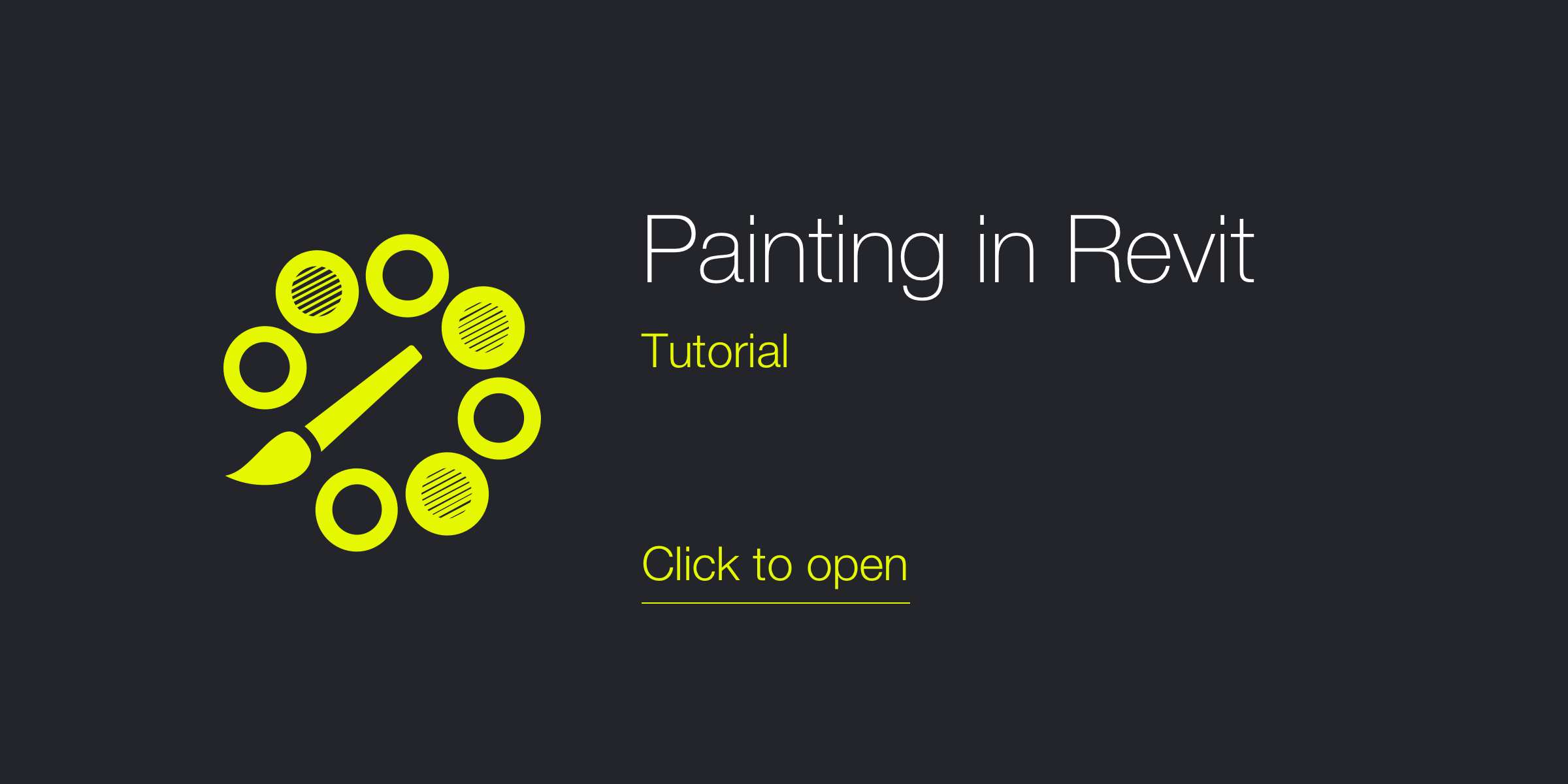 Painting in Revit