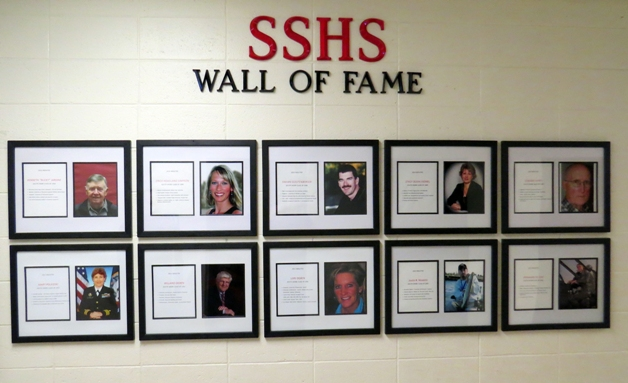 South Shore School Wall of Fame