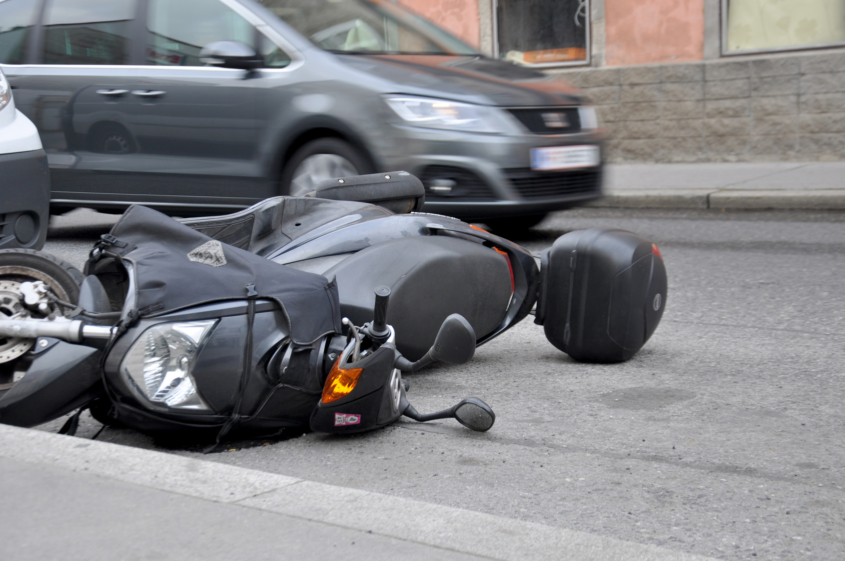 Mood swings after a motorcycle accident