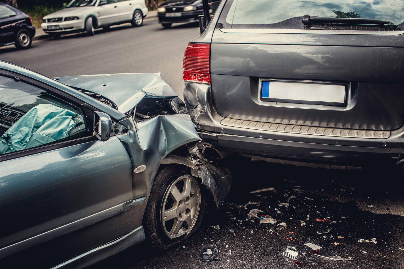Trauma Expected with an Auto Accident