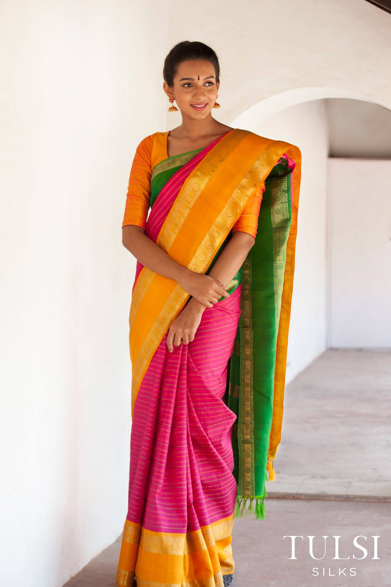 Saree Shoot
