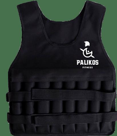 Chaleco con Peso - Negro - Palikos Fitness