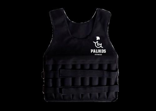 chaleco con peso negro - tienda Palikos Fitness