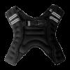 Chaleco de peso lastrado negro - palikos fitness