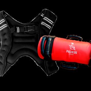 Pack extremo Chaleco X-SHAPE 10 kg + Power bag 10 kg