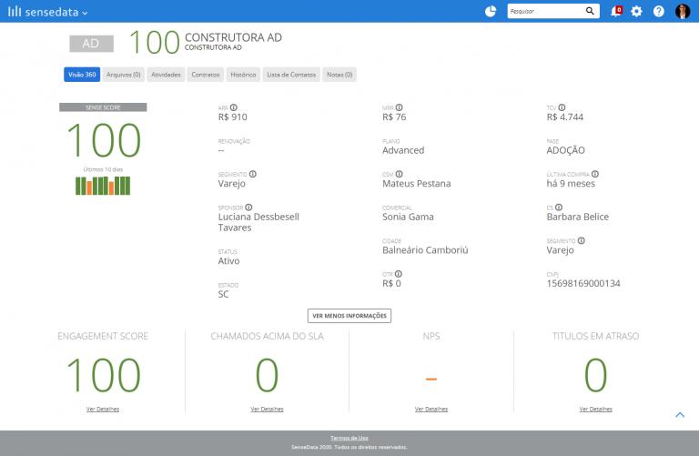 Customer Success Data Driven Visao 360 Cliente