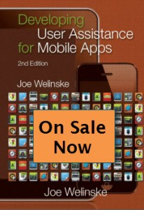 cover of the book User Assistance for Mobile Apps