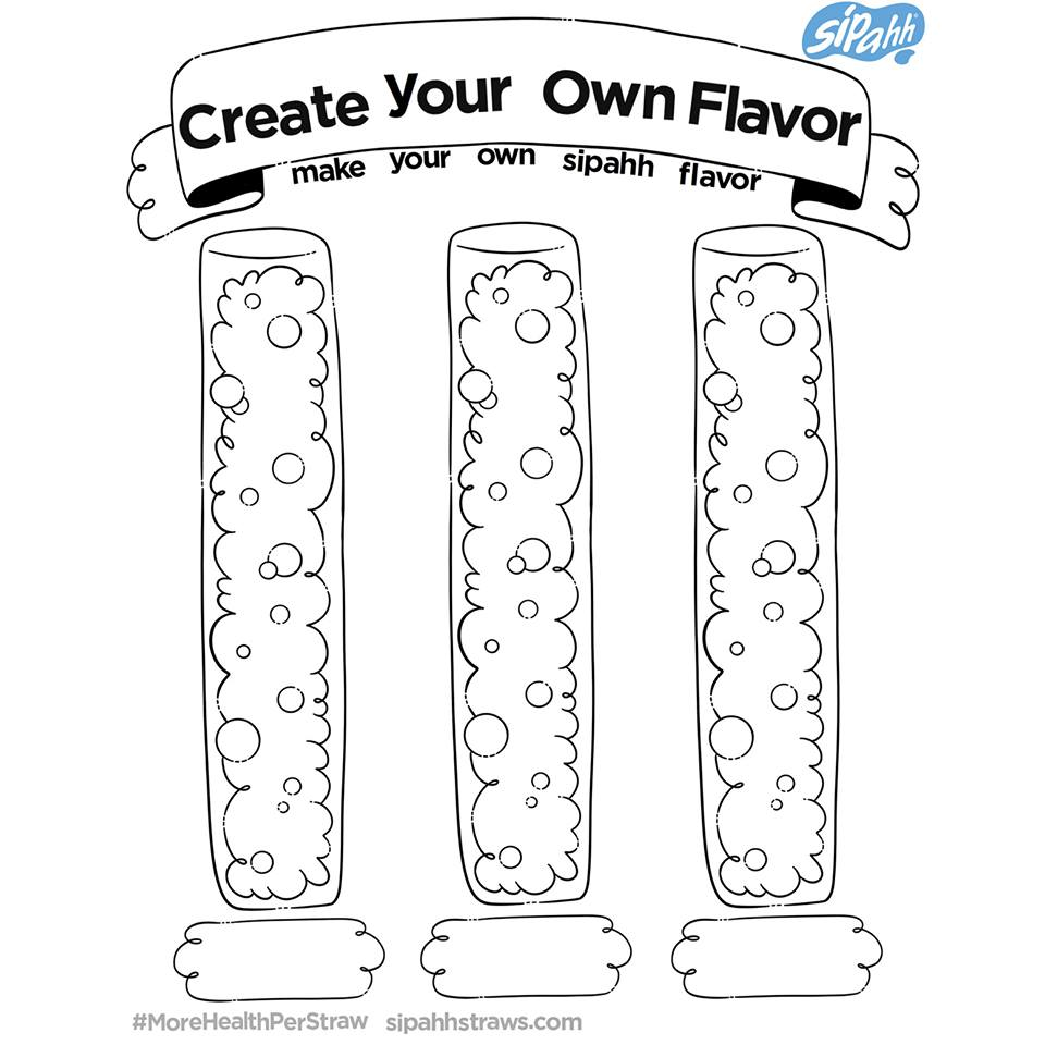 Create your own flavor game
