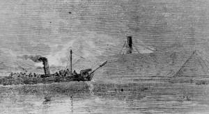 civil war union ship USS Albemarle