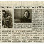 """Navy Diving Pioneer Found Courage Deep Within Herself"""
