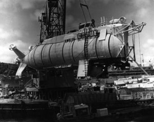 Submersible Trieste II (DSV-1).