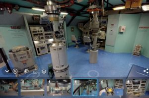 Greenling control room as seen during virtual tour