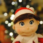Christmas Elf on the Shelf Chrissy|Sharon the Moments blog