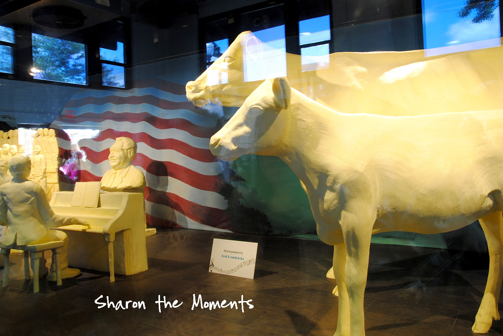 Ohio State Fair Butter Cow Fond Memories|Sharon the Moments blog