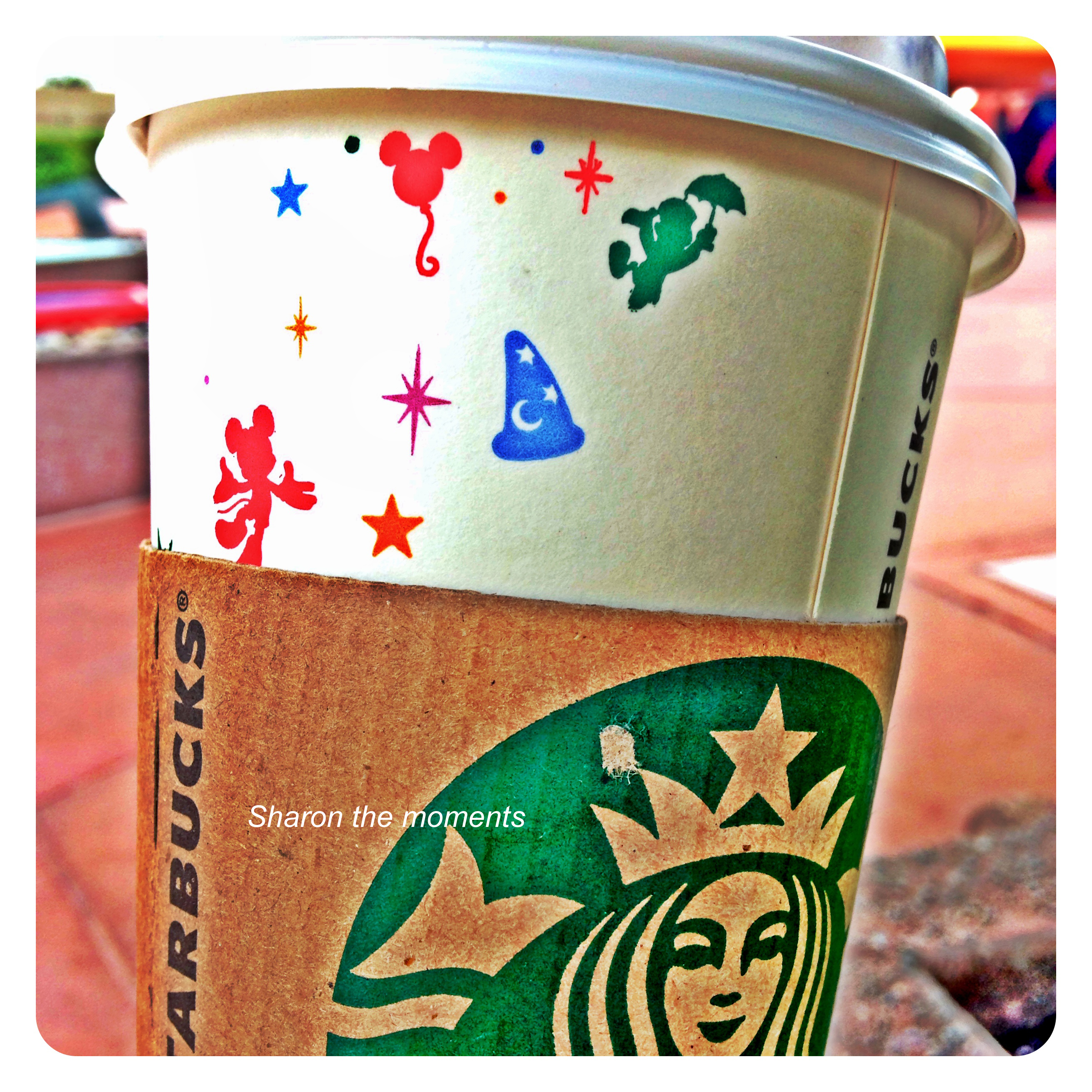 Walt Disney World October Visit Starbucks Epcot|Sharon the Moments Blog