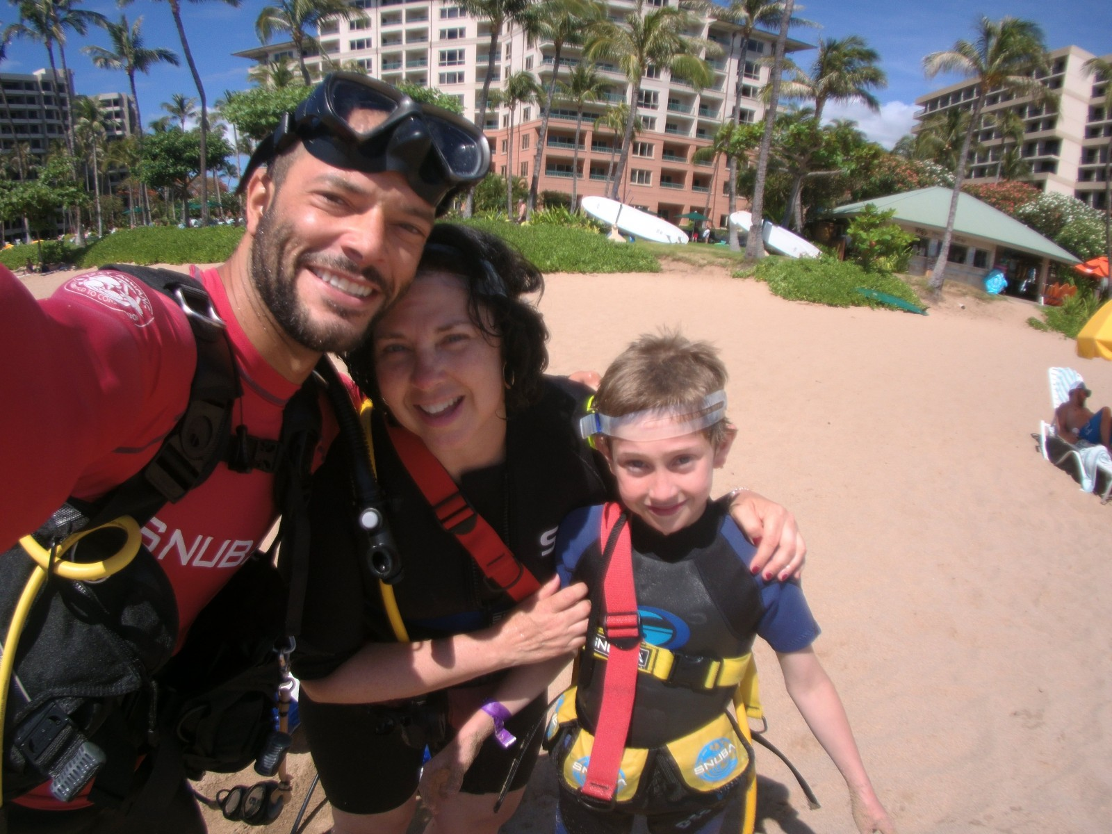 Our Shoreline SNUBA Experience in Kaanapali Beach in Maui Hawaii \Sharon the Moments Blog