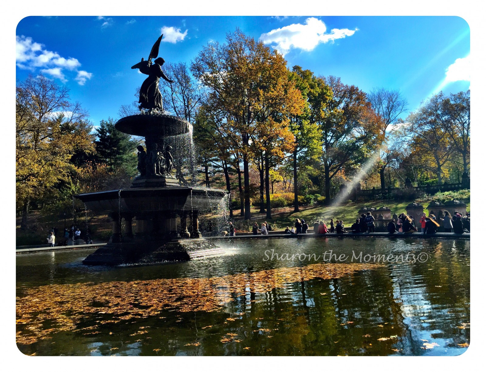 Bethesda Fountain Central Park New York City