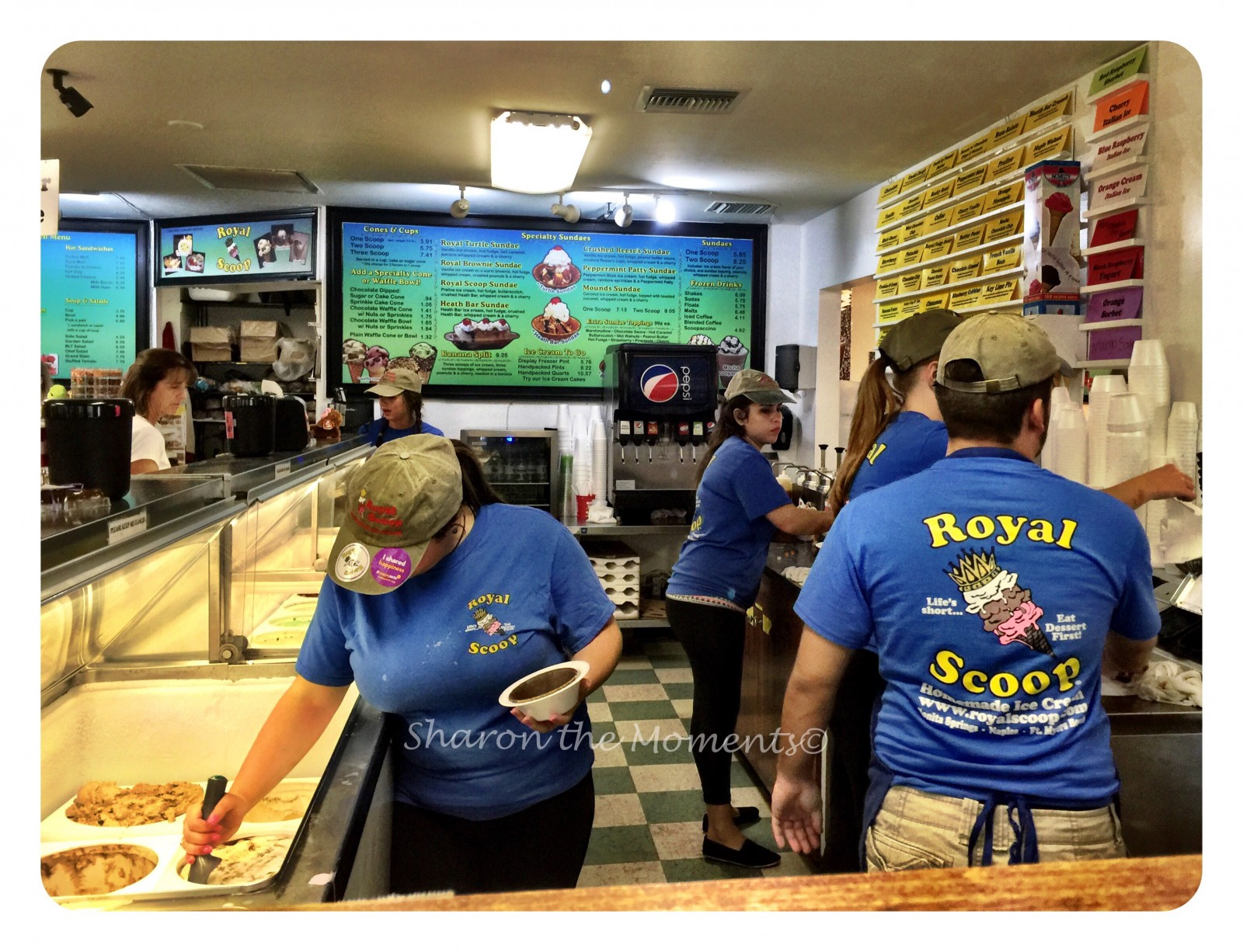 Royal Scoop Ice Cream Treat in Southwest Florida| Sharon the Moments Blog