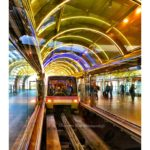 Stunning Lights & Reflections, Orlando Airport || Sharon the Moments Blog
