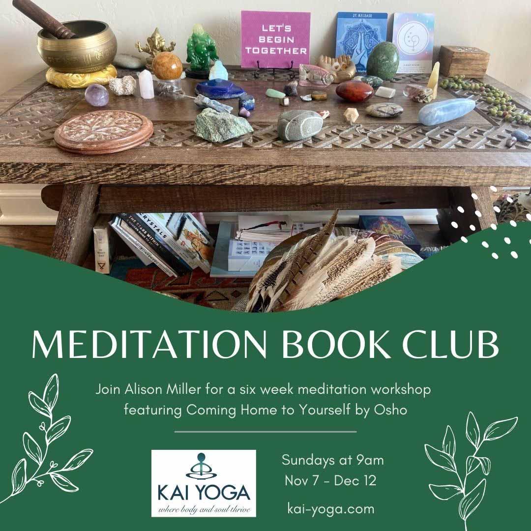 Kai Yoga - Alison's Meditation Book Club Series