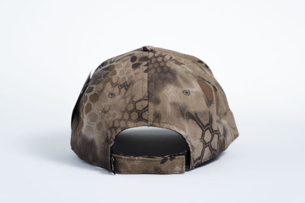 Style _ C855 Port Authority® Kryptek Highlander Design Camouflage Series Cap ALL WHITE TEXT (3)