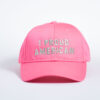 Style _ CP80 –Port _ Company® Six-Panel Twill Cap PINK ALL SILVER TEXT (1)