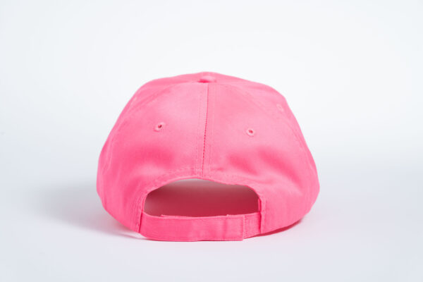 Style _ CP80 –Port _ Company® Six-Panel Twill Cap PINK ALL SILVER TEXT (3)