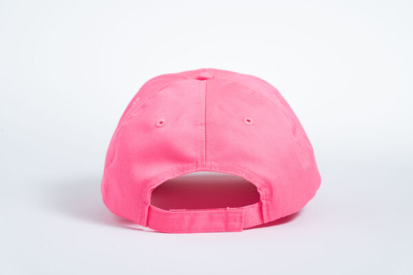 Style _ CP80 –Port _ Company® Six-Panel Twill Cap PINK RED WHITE BLUE TEXT (3)