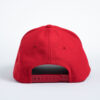 Style _ STC50 Sport-Tek® Action Snapback Cap SOLID RED ALL WHITE TEXT (3)
