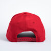 Style _ STC50 Sport-Tek® Action Snapback Cap SOLID RED – WHITE BLUE TEXT (3)