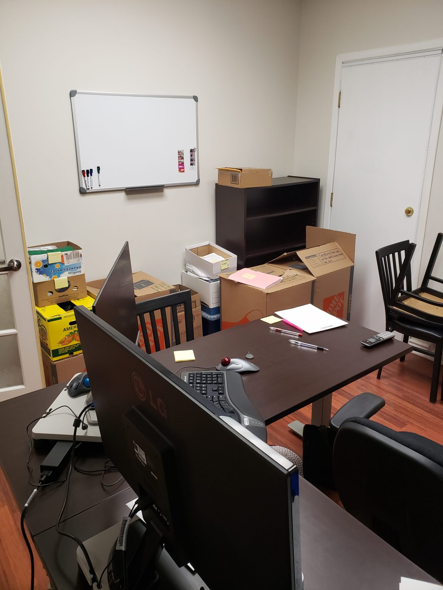 Main office - Before