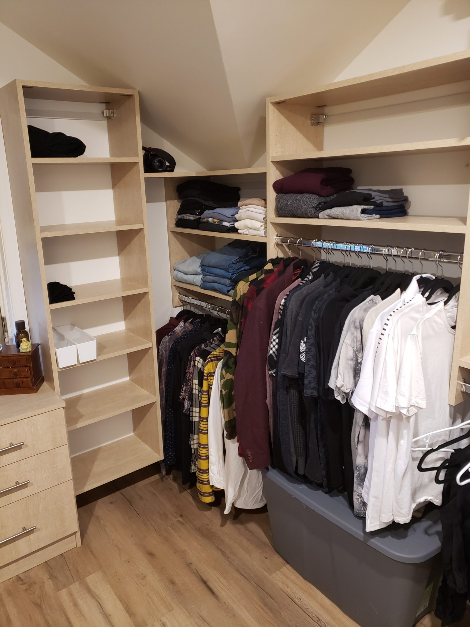 Home closet - After