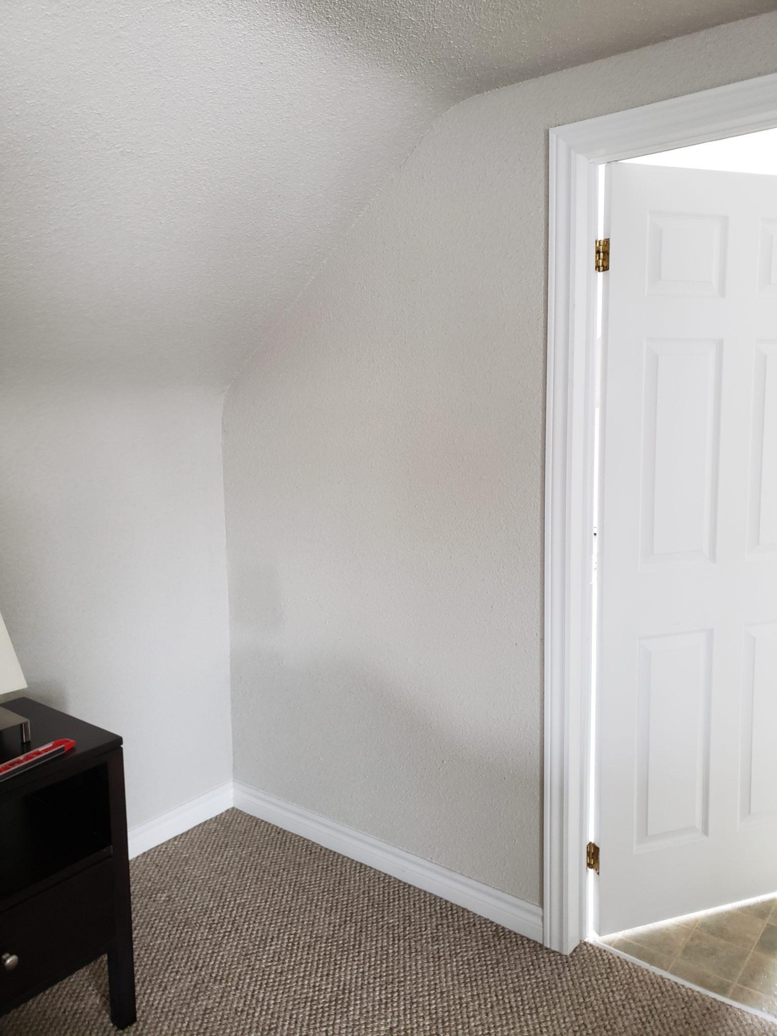 Bedroom area - Before