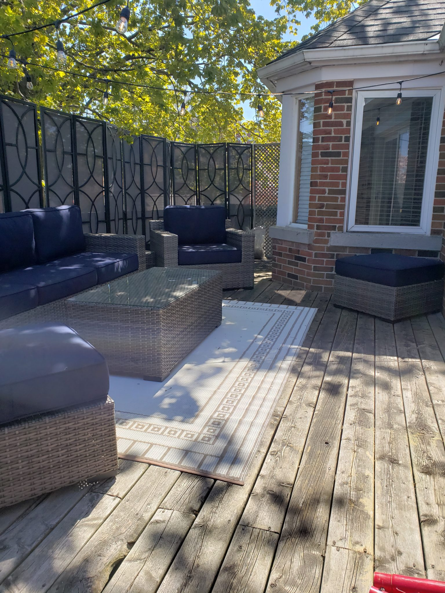 Patio furniture - After