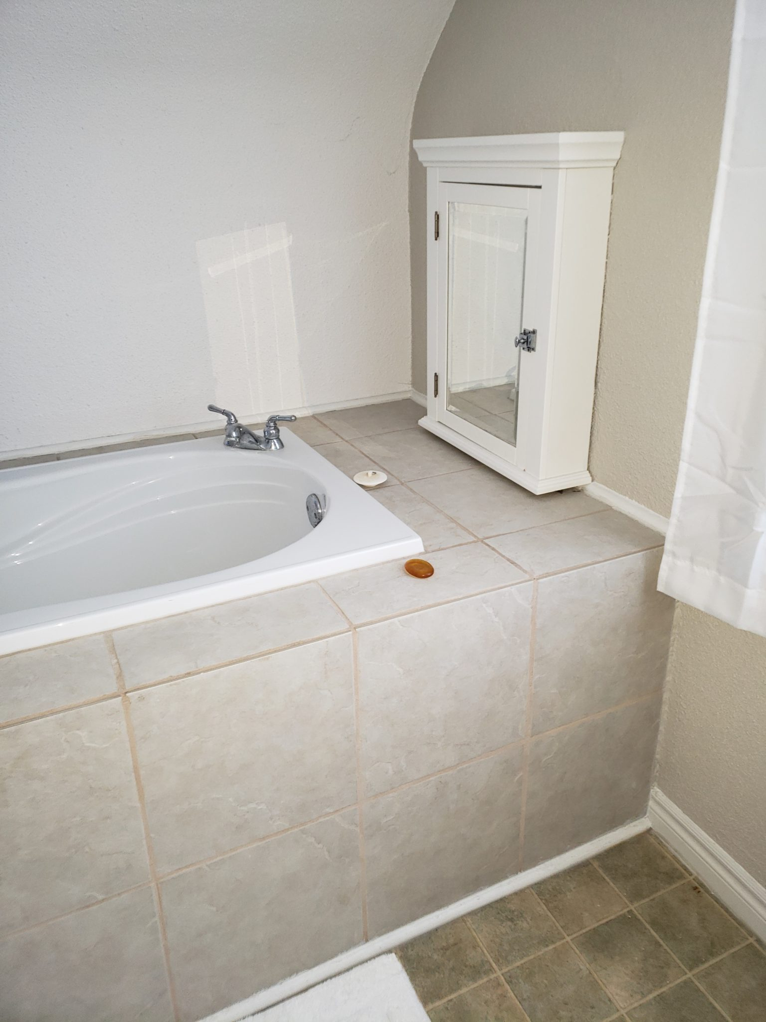 Bath area front - Before