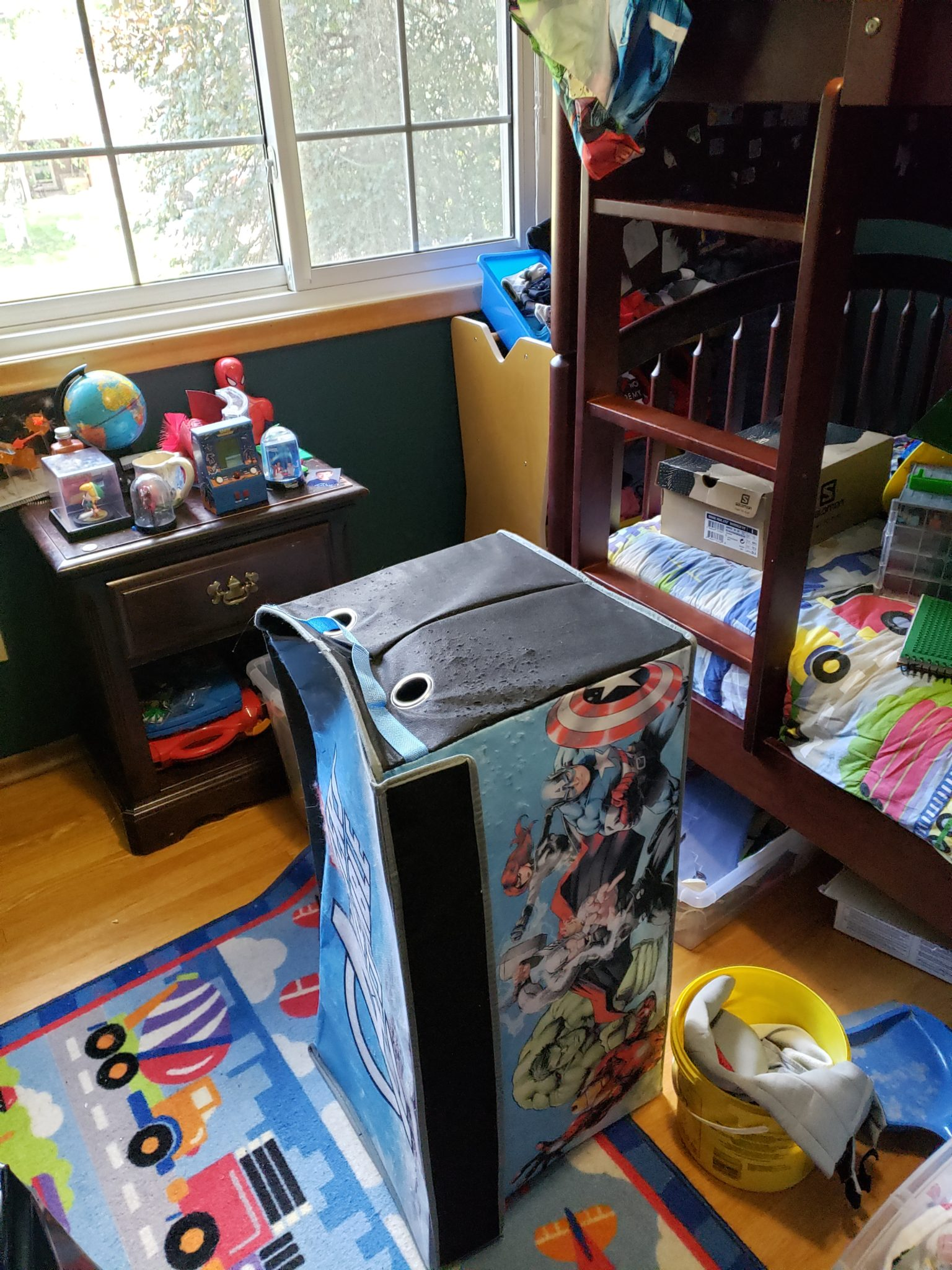 Child's bedroom - Before