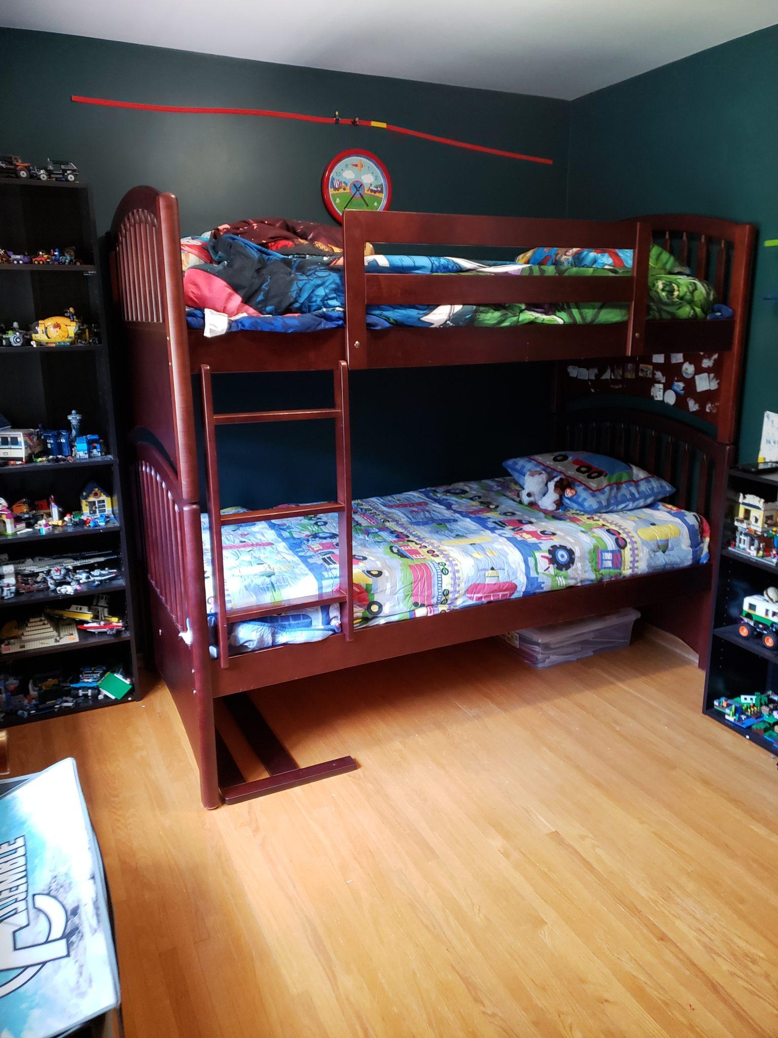 Child's bedroom - After