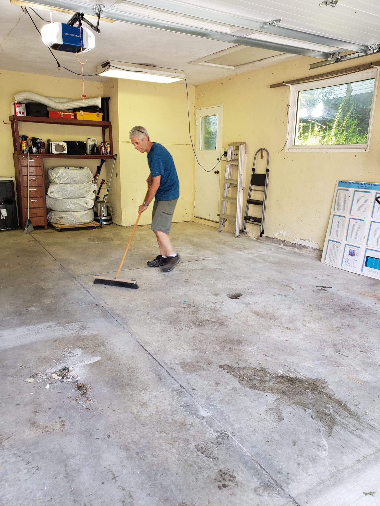 Garage area - After