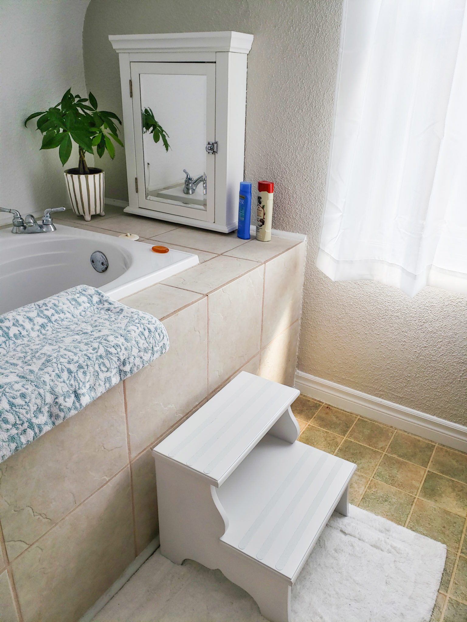 Bath area front - After
